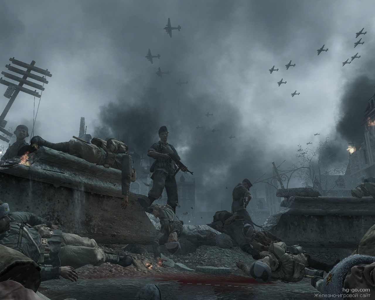 Call of duty world at war прохождение