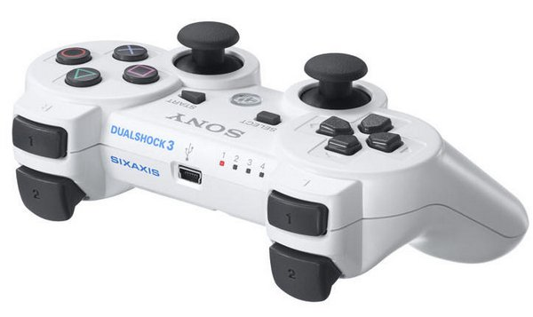 Заказал DualShock 3 Ceramic White